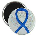 Blue Ribbon Angel Magnets
