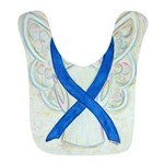 Blue Ribbon Angel Bib
