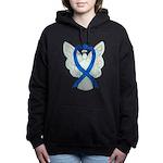 Blue Ribbon Angel Women's Hooded Sweatshirt