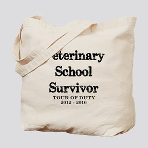 Veterinary School Survivor Tote Bag