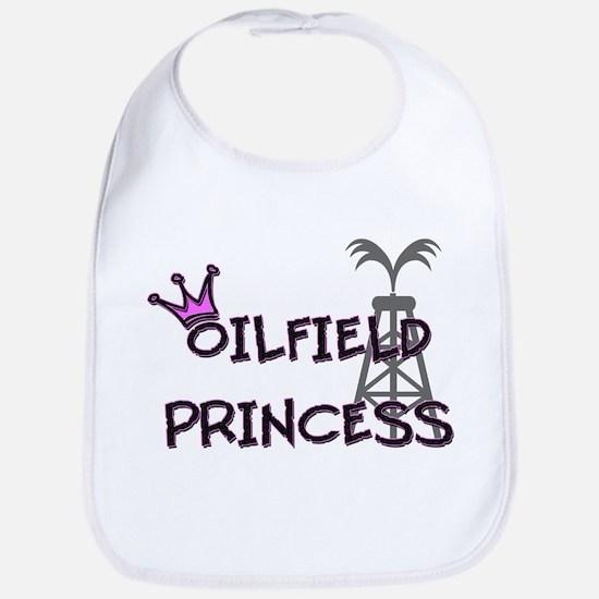 Oilfield Princecess Bib