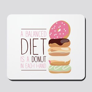Balanced Diet Mousepad
