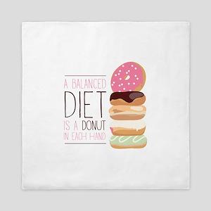 Balanced Diet Queen Duvet