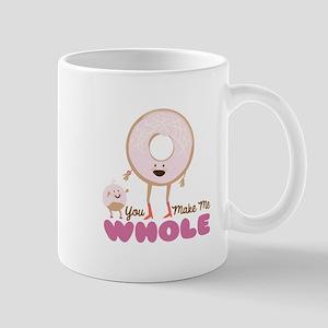 You Make Me Whole Mugs