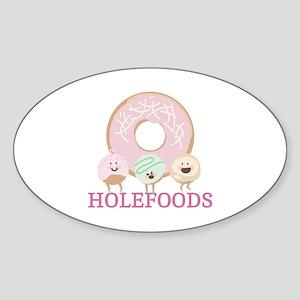 Holefoods Sticker
