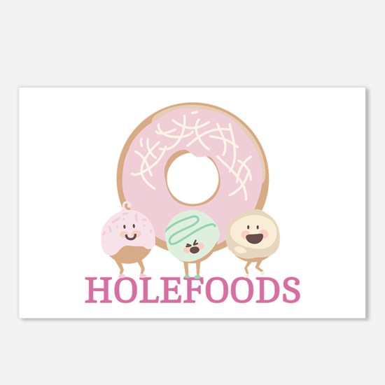 Holefoods Postcards (Package of 8)