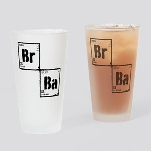 Breaking Bad Elements Drinking Glass
