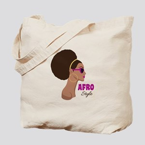 afro Style Tote Bag
