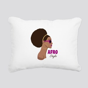 afro Style Rectangular Canvas Pillow