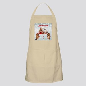 Gingerbread House Party Apron