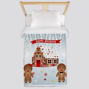 Gingerbread House Party Twin Duvet