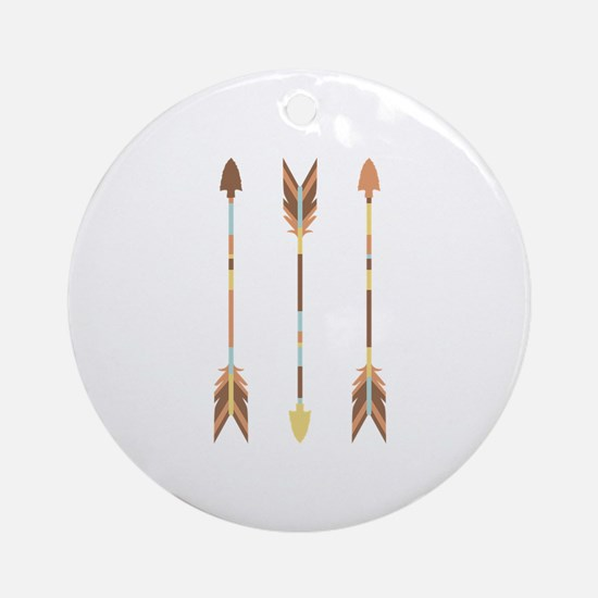 Indian Arrows Ornament (Round)