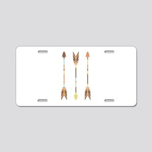 Indian Arrows Aluminum License Plate