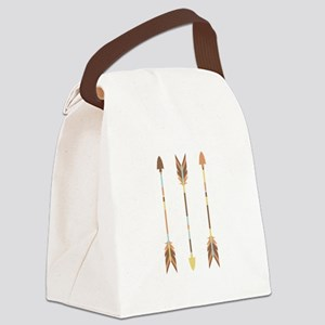 Indian Arrows Canvas Lunch Bag