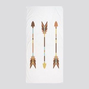 Indian Arrows Beach Towel