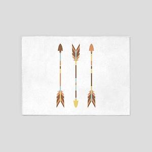 Indian Arrows 5'x7'Area Rug