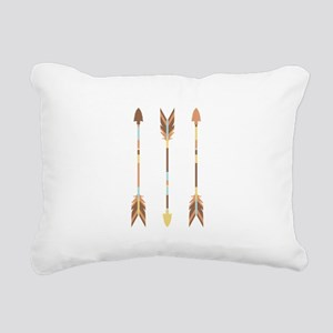 Indian Arrows Rectangular Canvas Pillow