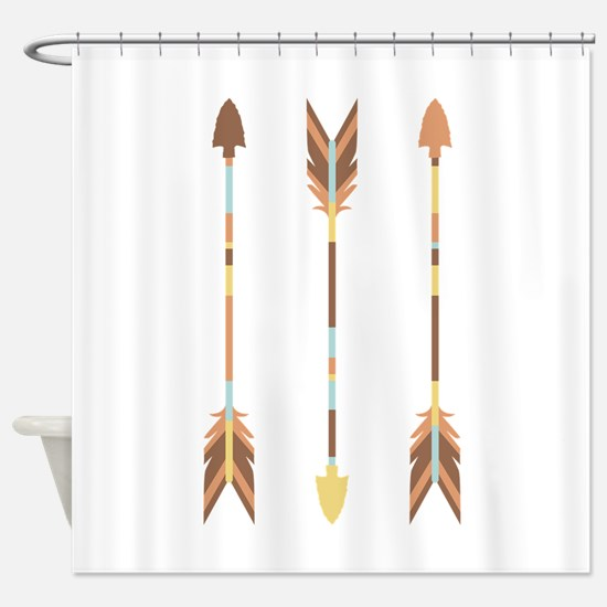 Indian Arrows Shower Curtain