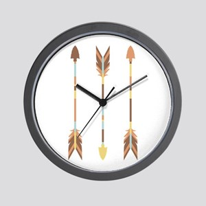 Indian Arrows Wall Clock
