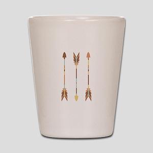Indian Arrows Shot Glass