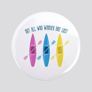 "All Who Wander 3.5"" Button"