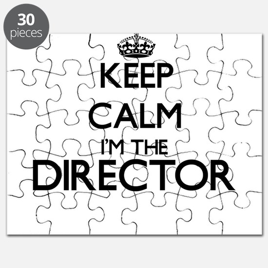 Keep calm I'm the Director Puzzle