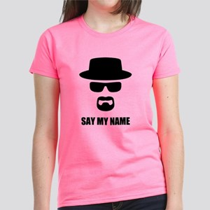 Custom Text Heisenberg Logo Women's Dark T-Shirt