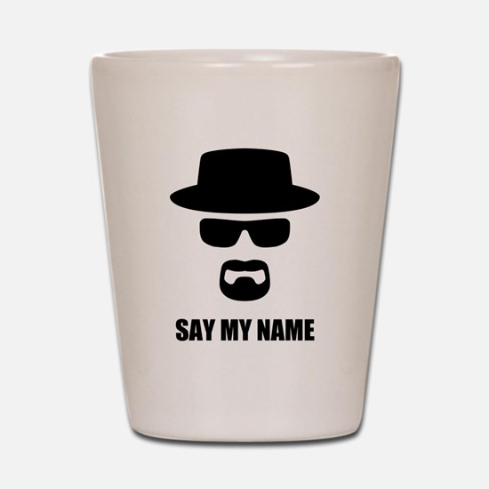Custom Text Heisenberg Logo Shot Glass