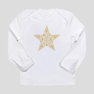 Beautiful Gold Star Long Sleeve T-Shirt
