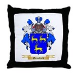 Grunfarb Throw Pillow