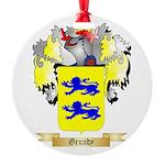 Grundy Round Ornament