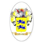 Grundy Sticker (Oval 50 pk)