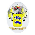 Grundy Ornament (Oval)