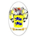 Grundel Sticker (Oval 10 pk)