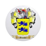 Grundel Ornament (Round)