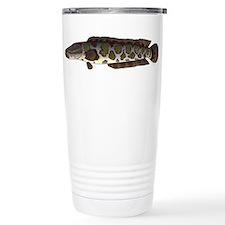 Northern Snakehead fish Travel Mug