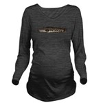 Northern Snakehead fish Long Sleeve Maternity T-Sh