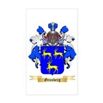 Grunberg Sticker (Rectangle)
