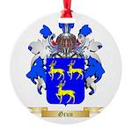 Grun Round Ornament