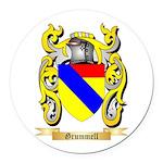 Grummell Round Car Magnet