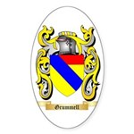 Grummell Sticker (Oval 50 pk)