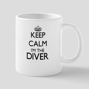 Keep calm I'm the Diver Mugs