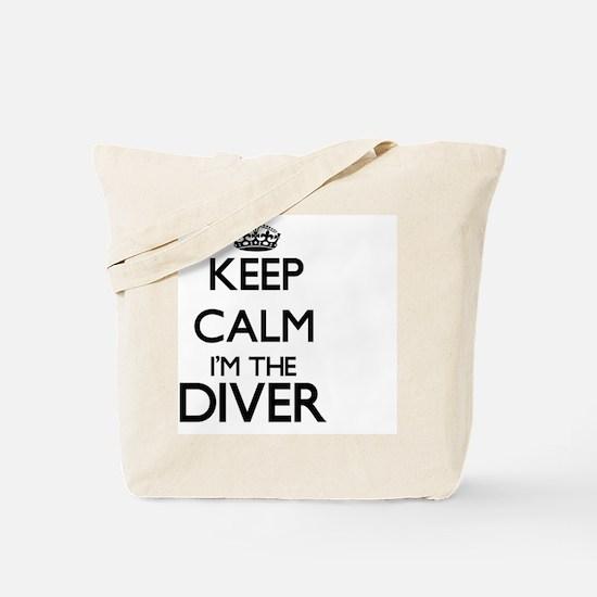 Keep calm I'm the Diver Tote Bag