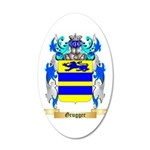 Grugger 20x12 Oval Wall Decal