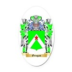 Grugan Oval Car Magnet