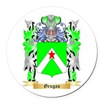 Grugan Round Car Magnet
