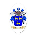 Gruenwald Oval Car Magnet