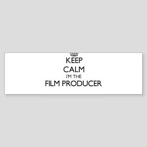 Keep calm I'm the Film Producer Bumper Sticker
