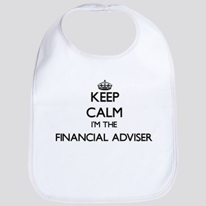 Keep calm I'm the Financial Adviser Bib