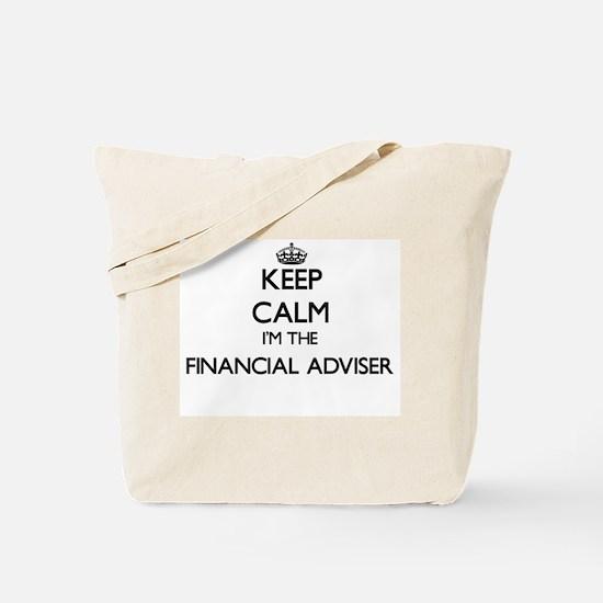Keep calm I'm the Financial Adviser Tote Bag